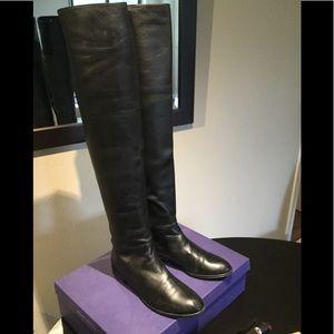 Stuart Weitzman Zealot leather over the knee boots